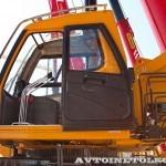 автокран Sany SPC-250 на шасси КамАЗ 65115 на выставке СТТ 2014 - 7