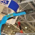 седельный тягач Урал 44202-3511-82М с краном-манипулятором Инман ИМ-320 УралСпецТранс на выставке СТТ-2014 - 1