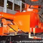 бортовой грузовик Урал 4320-80М с краном-манипулятором Инман ИТ-180 УралСпецТранс на выставке СТТ-2014 - 2