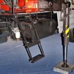 бортовой грузовик Урал 4320-80М с краном-манипулятором Инман ИТ-180 УралСпецТранс на выставке СТТ-2014 - 6