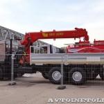 бортовой грузовик Урал 4320-80М с краном-манипулятором Инман ИТ-180 УралСпецТранс на выставке СТТ-2014 - 8