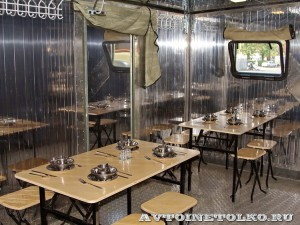 кухня-столовая КСВК-240-24 на салоне Комплексная Безопасность 2014 - 1