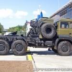 армейский тягач Урал 63704 на салоне Комплексная Безопасность 2014 - 11