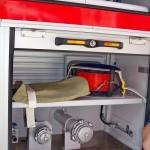 пожарная автоцистерна АЦ-5,5-40 (Урал-5557) УСПТК на салоне Комплексная Безопасность 2014 - 2