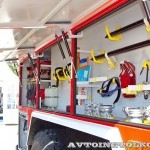 пожарная автоцистерна АЦ-5,5-40 (Урал-5557) УСПТК на салоне Комплексная Безопасность 2014 - 7