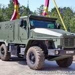 Бронированный Урал 4320ВВ на салоне Комплексная Безопасность 2014 - 9