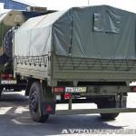 Многоцелевой кузов-фургон К4350-11К на шасси КамАЗ-43501 с прицепом 7158 КАФ Шумерля на салоне Комплексная Безопасность 2014 - 2