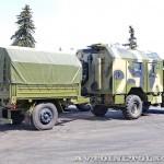 Многоцелевой кузов-фургон К4350-11К на шасси КамАЗ-43501 с прицепом 7158 КАФ Шумерля на салоне Комплексная Безопасность 2014 - 3
