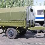 Многоцелевой кузов-фургон К4350-11К на шасси КамАЗ-43501 с прицепом 7158 КАФ Шумерля на салоне Комплексная Безопасность 2014 - 4