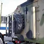 Многоцелевой кузов-фургон К4350-11К на шасси КамАЗ-43501 с прицепом 7158 КАФ Шумерля на салоне Комплексная Безопасность 2014 - 6