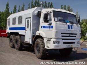 специальный автобус ВМ-43114 на шасси КамАЗ-5350 КАФ Шумерля на салоне Комплексная Безопасность 2014 - 5
