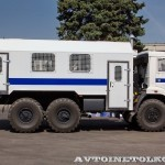 специальный автобус ВМ-43114 на шасси КамАЗ-5350 КАФ Шумерля на салоне Комплексная Безопасность 2014 - 6