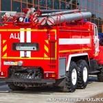 пожарная автоцистерна АЦ-5,5-40 (Урал-5557) УСПТК на салоне Комплексная Безопасность 2014 - 11