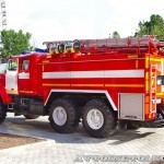 пожарная автоцистерна АЦ-5,5-40 (Урал-5557) УСПТК на салоне Комплексная Безопасность 2014 - 12
