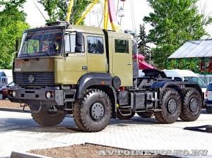 армейский тягач Урал 63704 на салоне Комплексная Безопасность 2014 - 16