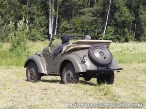 Джип Kurogane Type 95 на слете Моторы Войны 2014 - 1