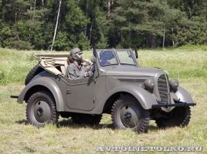 Джип Kurogane Type 95 на слете Моторы Войны 2014 - 2