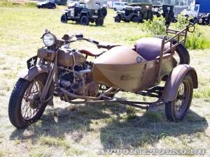 Мотоцикл Rikuo на слете Моторы Войны 2014 - 1