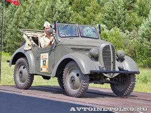 Джип Kurogane Type 95 на слете Моторы Войны 2014 - 10