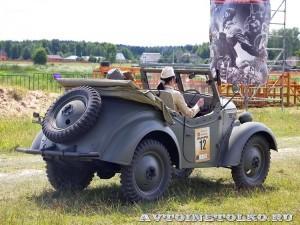 Джип Kurogane Type 95 на слете Моторы Войны 2014 - 11