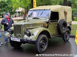 Радиостанция Р-104АМ на шасси УАЗ-69 на Ретро-Фесте в Сокольниках 2014 - 10