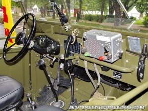 Радиостанция Р-104АМ на шасси УАЗ-69 на Ретро-Фесте в Сокольниках 2014 - 2