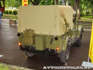 Радиостанция Р-104АМ на шасси УАЗ-69 на Ретро-Фесте в Сокольниках 2014 - 5
