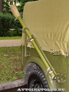 Радиостанция Р-104АМ на шасси УАЗ-69 на Ретро-Фесте в Сокольниках 2014 - 9