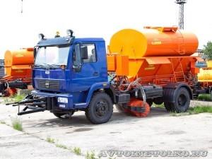 Комбинированная дорожная машина МДК 4329В СААЗ завод ЗиЛ май 2013 - 1