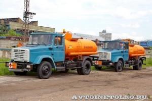 Топливозаправщик АТЗ 7 СААЗ завод ЗиЛ май 2013 - 2