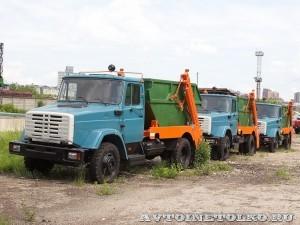 Бункеровоз МКС 1 Ряжский АРЗ завод ЗиЛ май 2013 - 1