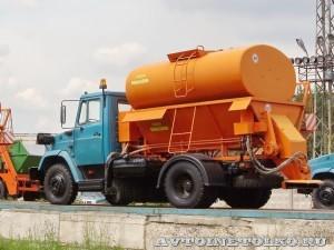 Комбинированная дорожная машина МДК 432932 СААЗ завод ЗиЛ май 2013 - 1