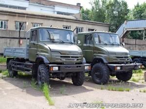 опытный ЗиЛ 43274Н завод ЗиЛ май 2013 - 1