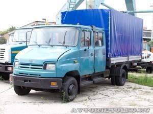 ЗиЛ 5301М2 с двойной кабиной и кузовом Центртранстехмаш завод ЗиЛ май 2013 - 1