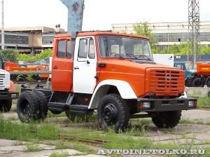 двухкабинное шасси ЗиЛ 4974 завод ЗиЛ май 2013 - 1