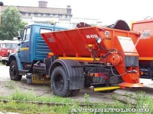Комбинированная дорожная машина КО 829А Коммаш Арзамас завод ЗиЛ май 2013 - 1