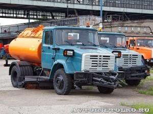 Комбинированная дорожная машина МДК 433362 СААЗ завод ЗиЛ май 2013 - 1