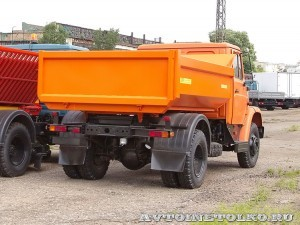 Самосвал ЗиЛ-СААЗ-454510 завод ЗиЛ май 2013 - 1