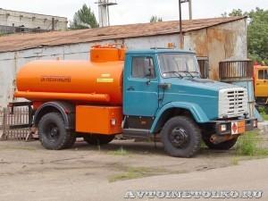Топливозаправщик АТЗ 7 СААЗ завод ЗиЛ май 2013 - 1