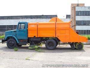 подметально-уборочная машина ПУМ 96 Мосгормаш завод ЗиЛ май 2013 - 1