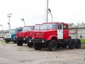 двухкабинное шасси ЗиЛ 4334 завод ЗиЛ май 2013 - 1