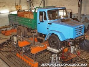 ЗиЛ 432930 с модернизированной ходовой частью на стенде Шенк завод ЗиЛ май 2013 - 4