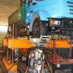 ЗиЛ 432930 с модернизированной ходовой частью на стенде Шенк завод ЗиЛ май 2013 - 5