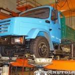 ЗиЛ 432930 с модернизированной ходовой частью на стенде Шенк завод ЗиЛ май 2013 - 6