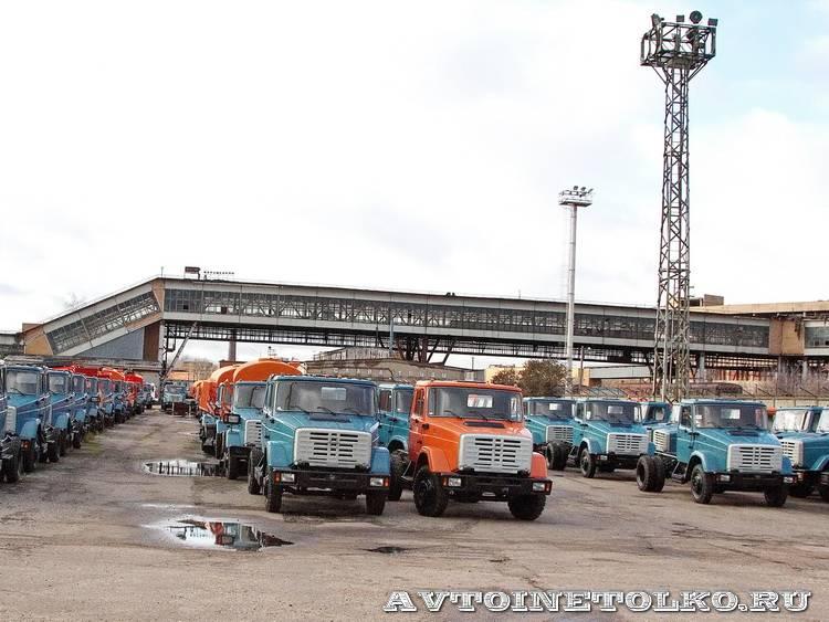 завод ЗиЛ май 2013 - 2