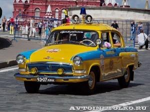 1962 ГАЗ-21Р Волга ГАИ 1962 Николай Панули и Егор Кукушкин, Москва на ГУМ Авторалли Gorkyclassic-2014 - 1