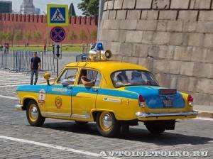 1962 ГАЗ-21Р Волга ГАИ 1962 Николай Панули и Егор Кукушкин, Москва на ГУМ Авторалли Gorkyclassic-2014 - 2