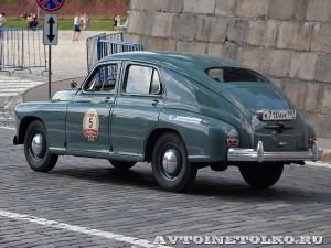 1954 ГАЗ-М20 Победа Леонид Голованов и Дарья Лаврова, Москва на ГУМ Авторалли Gorkyclassic-2014 - 2