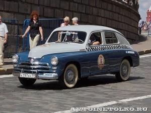 1957 ГАЗ-М20В Такси Максин Клеймёнов и Сергей Хабаров, Москва на ГУМ Авторалли Gorkyclassic-2014 - 1
