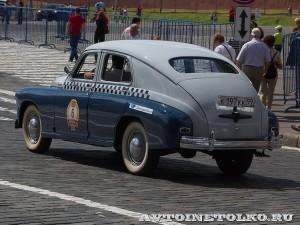 1957 ГАЗ-М20В Такси Максин Клеймёнов и Сергей Хабаров, Москва на ГУМ Авторалли Gorkyclassic-2014 - 2